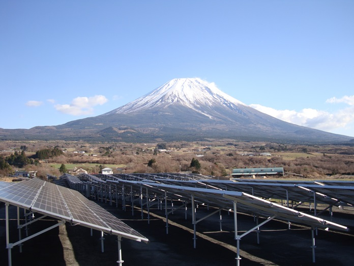 富士ヶ嶺_富士山
